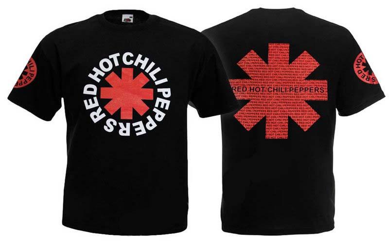 Футболка RED HOT CHILI PEPPERS (лого)