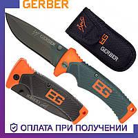 Туристический складной нож Gerber с лезвием из углеродистой стали нож гербер (31-000752)