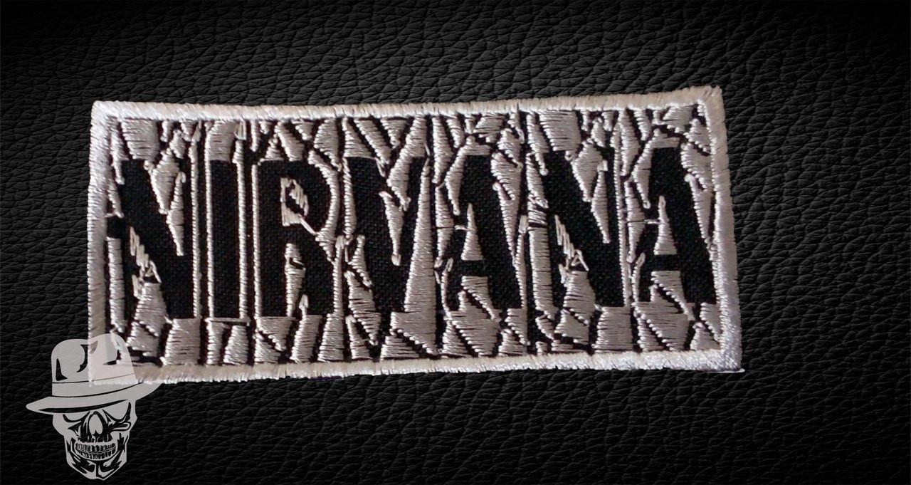NIRVANA-2 (павутина) - нашивка з вишивкою