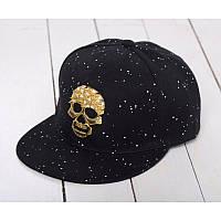 Снепбэк Skull Black