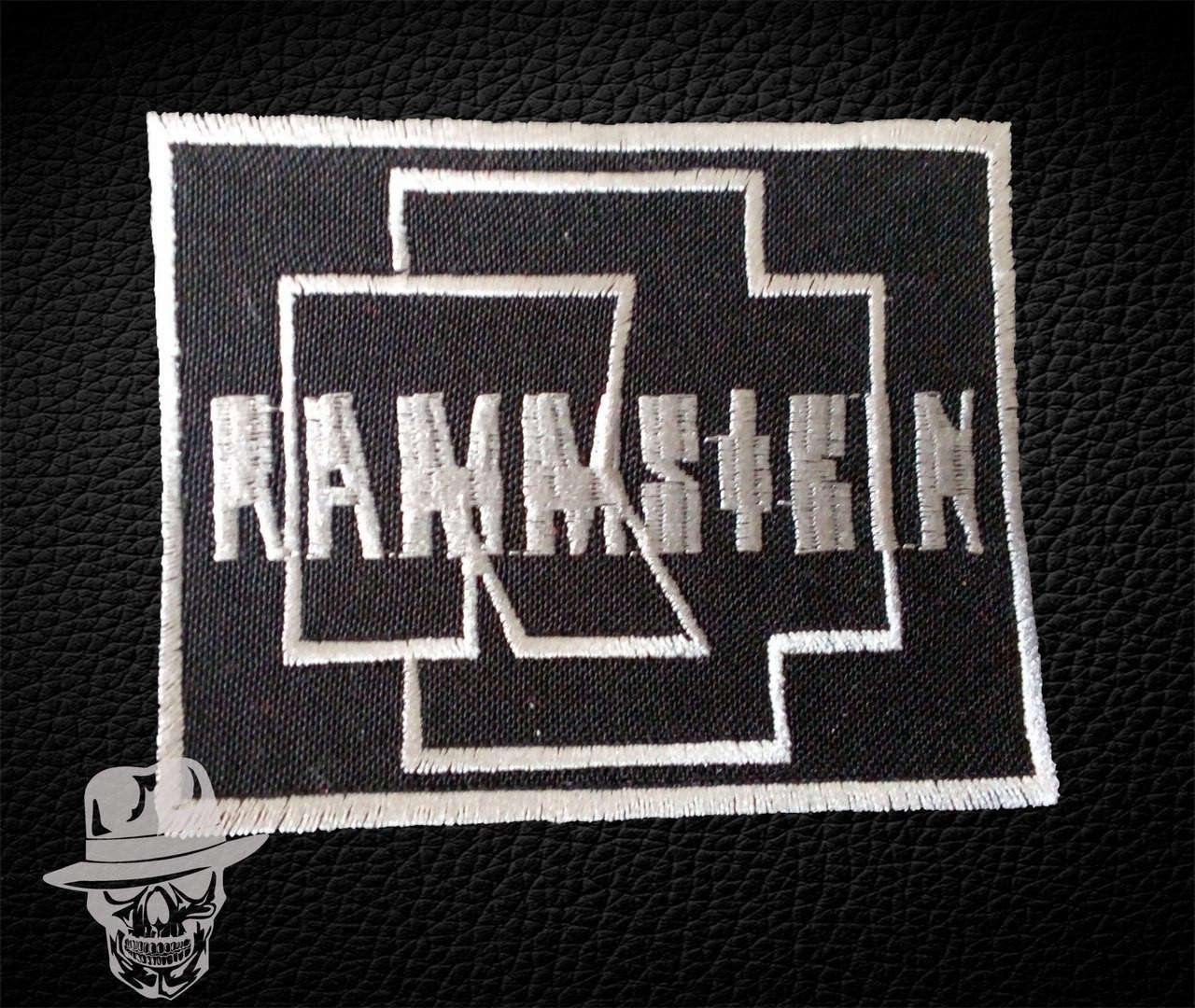 Рамштайн-2 (емблема) - нашивка з вишивкою