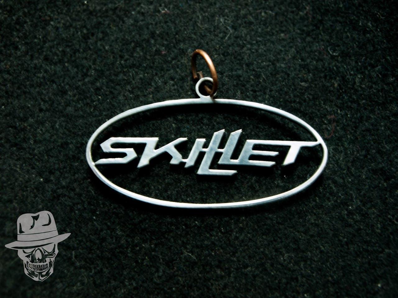 Skillet (лого) - кулон сталевий