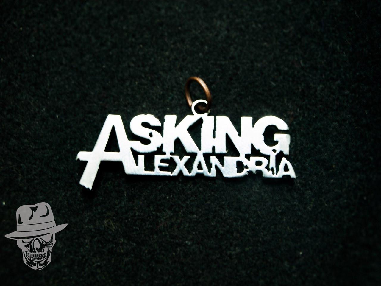 STN43 - Asking Alexandra - кулон сталевий