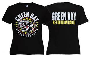 Футболка жіноча GREEN DAY Revolution Radio