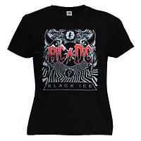 Футболка жіноча AC/DC - Black Ice
