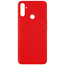 Чехол Silicone Cover Full without Logo (A) для Realme C3 Красный / Red