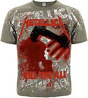 "Футболка METALLICA ""kill'em ALL"" (OLIVE T-SHIRT)"