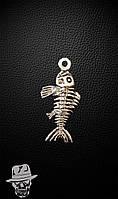 Скелет риби - кулон