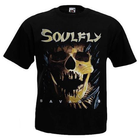 Футболка SOULFLY - Savages
