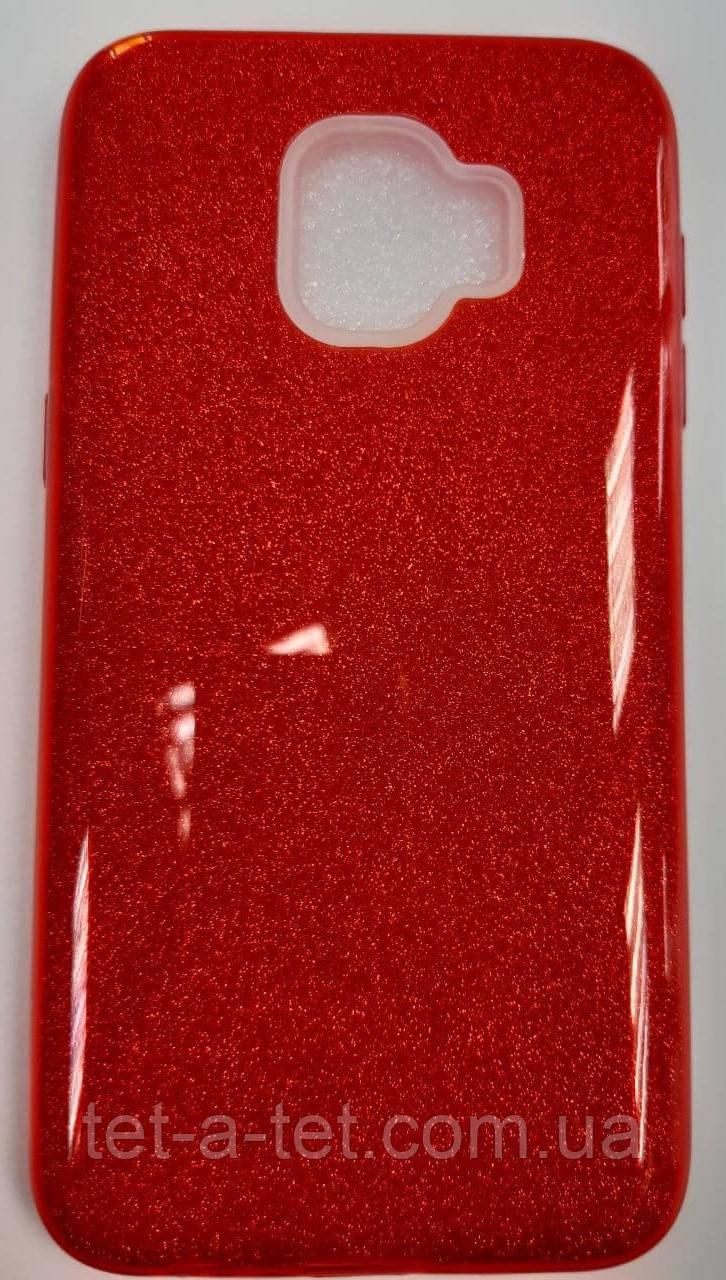 Shine Silicone Case Samsung J260 Bordo