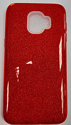 Чехол-накладка Shine Case для Samsung J260 Bordo