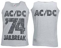 Майка AC/DC 74 Jailbreak (сіра)