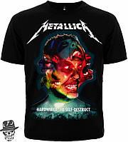 "Футболка  Metallica ""Hardwired...To Self-Destruct"" MK1"
