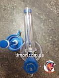 Флоуметр с расходомером (увлажнитель кислорода), под соединение DIN, фото 7