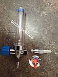 Флоуметр с расходометром (увлажнитель кислорода), под соединение DIN, фото 4