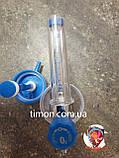 Флоуметр с расходометром (увлажнитель кислорода), под соединение DIN, фото 8