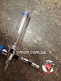 Флоуметр с расходометром (увлажнитель кислорода), под соединение DIN, фото 3