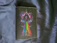 """Обкладинка для паспортаРІпк Floyd """" dark side, фото 1"""