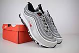 Кроссовки мужские распродажа АКЦИЯ 650 грн Nike Air Max 97 45й(29см) последние размеры люкс копия, фото 2