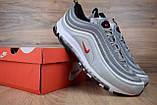 Кроссовки мужские распродажа АКЦИЯ 650 грн Nike Air Max 97 45й(29см) последние размеры люкс копия, фото 6