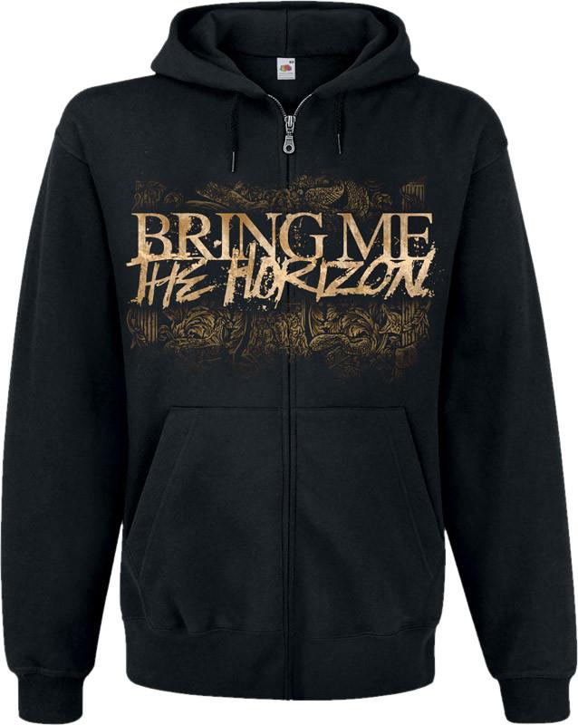 Кенгуру Bring Me The Horizon (lions) на блискавці