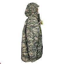 Куртка з флісовою підстібкою камуфляж вітро-вологозахисна ACU MIL-TEC 10615070 камуфляж