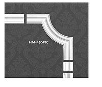 Кутовий елемент для молдингів Classic Home HM-43048C з поліуретану