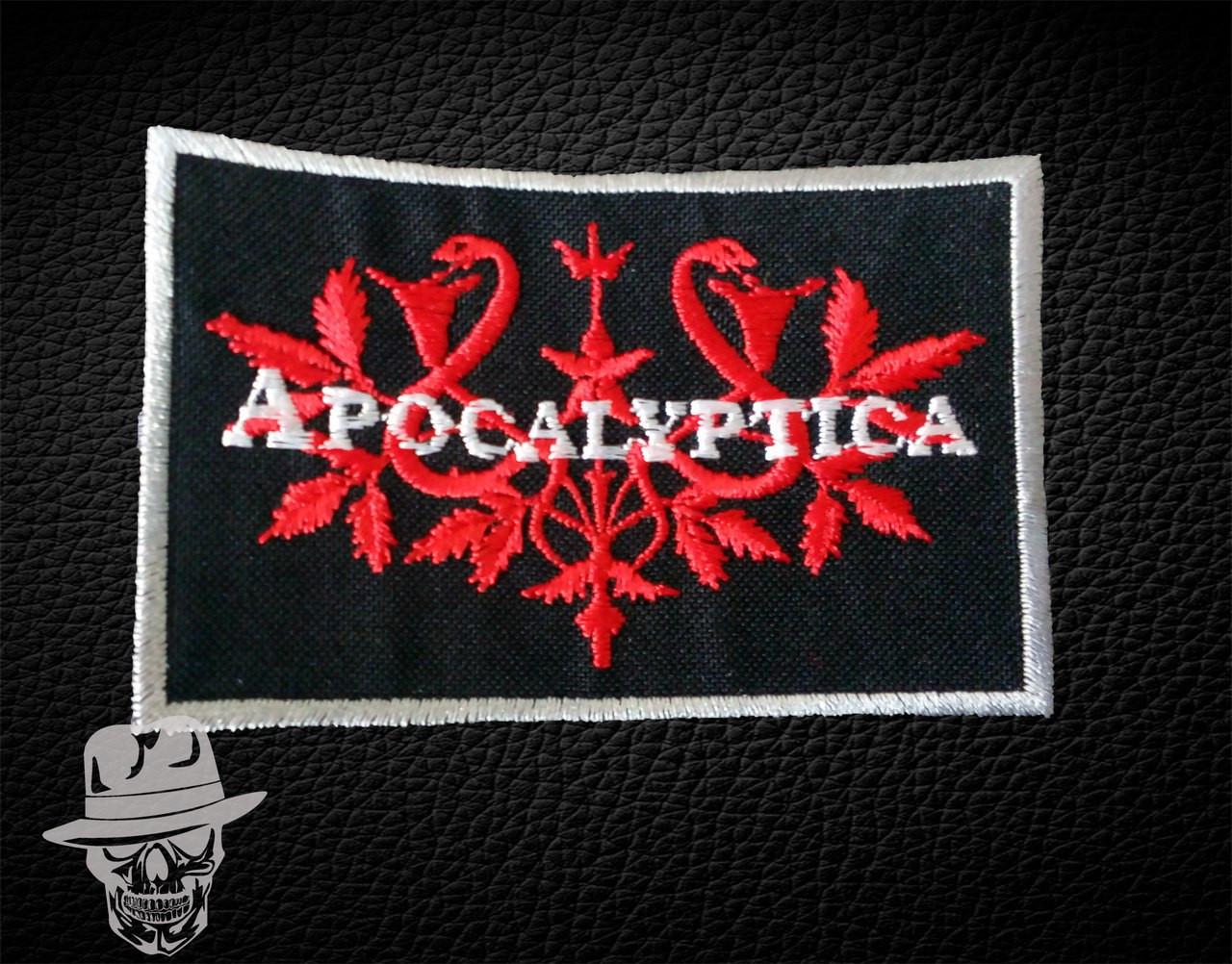 APOCALYPTICA-2 (візерунок) - нашивка з вишивкою