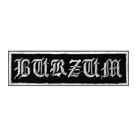 BURZUM-1 - нашивка з вишивкою