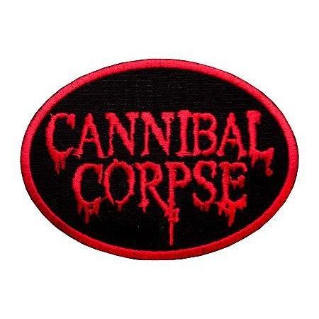 CANNIBAL CORPSE-2 (овал) - нашивка з вишивкою
