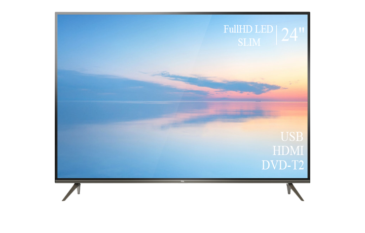 "Современный  Телевизор   TCL 24"" FullHD DVB-T2 USB Гарантия 1 ГОД!"