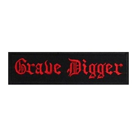 GRAVE DIGGER - нашивка з вишивкою