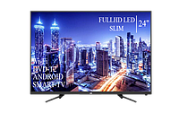 "Современный  Телевизор   JVC 24"" Smart-TV FullHD T2 USB Гарантия 1 ГОД, фото 1"