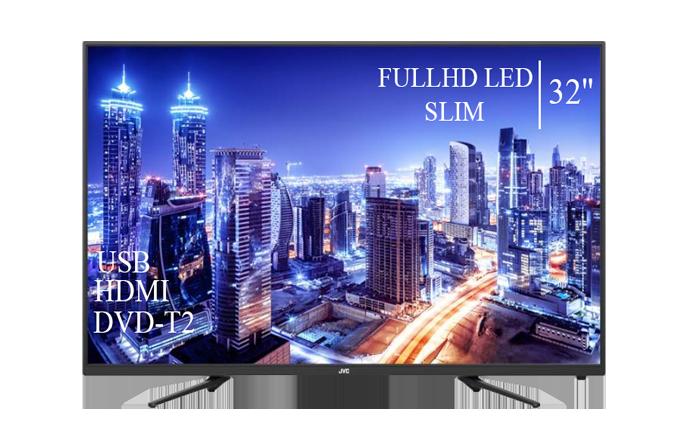 """Сучасний Телевізор JVC 32"""" FullHD DVB-T2 USB Гарантія 1 РІК!"""