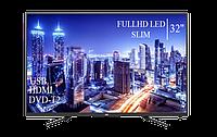 """Сучасний Телевізор JVC 32"""" FullHD DVB-T2 USB Гарантія 1 РІК!, фото 1"""
