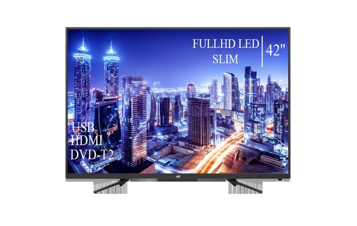 """Сучасний Телевізор JVC 42"""" FullHD DVB-T2 USB Гарантія 1 РІК!"""