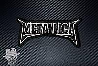 METALLICA-7 (лого фігурне) - нашивка з вишивкою