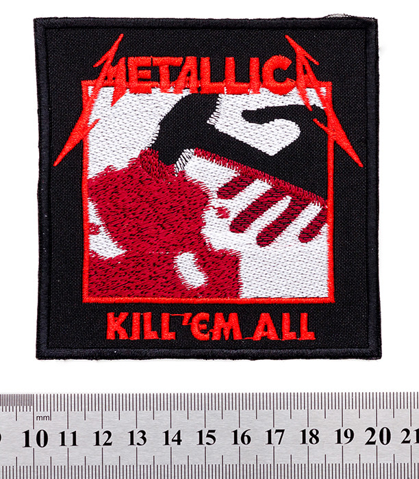 "Metallica ""kill'em All"" - нашивка"