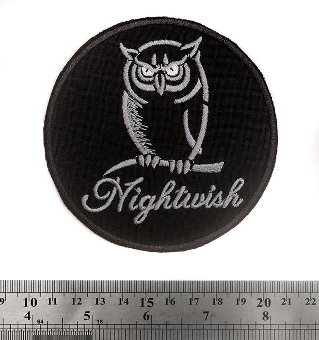 Nightwish (Сова) - нашивка