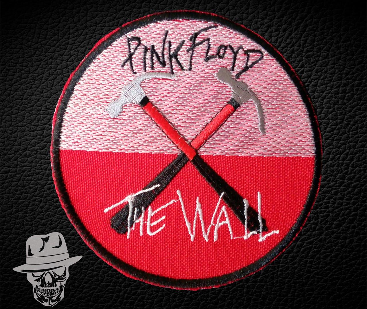 PINK FLOYD-3 (The Wall, коло) - нашивка з вишивкою
