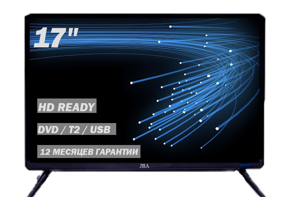 """Не великий телевізор JBA 17"""" HD Ready DVB-T2 HDMI (1366x768)"""