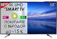 """4K Телевізор JBA 58"""" I Android 7.0/Smart TV/DVB/T2/FullHD/USB, фото 1"""