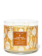 Свеча ароматизированная Bath and Body Works Cinnamon Caramel Swirl Scented Candle