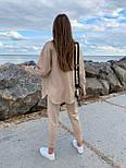 Женский костюм прогулочный из замши, фото 3