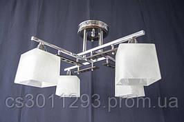 Люстра потолочная на 4 лампочки 0754-4