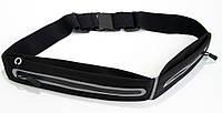 Сумка с отделениями на пояс, YN-DY008-5 черная, сумка ремень на пояс для бега с доставкой
