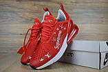 Кроссовки мужские распродажа АКЦИЯ 750 грн Nike Max 270 43й(27,5см), 44й(28см) люкс копия, фото 6