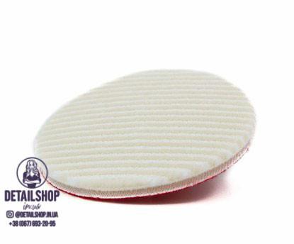 CarPro CoolPad wool/MF - гібридний полірувальний круг(вовна/мікрофібра), 150 мм