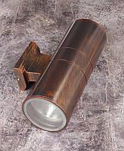Светильник настенный/потолочный 2215/2-bg-s Коричневый 30х17х11 см.