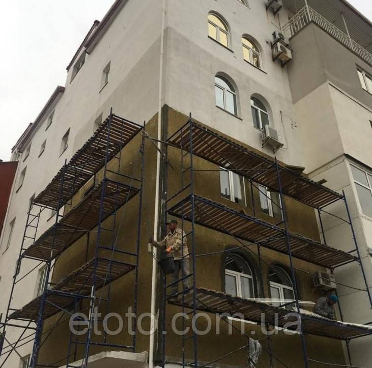 Будівельні рамні риштування комплектація 12 х 12 (м)